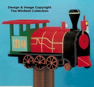locomotive mailbox woodcraft pattern mailbox woodworking