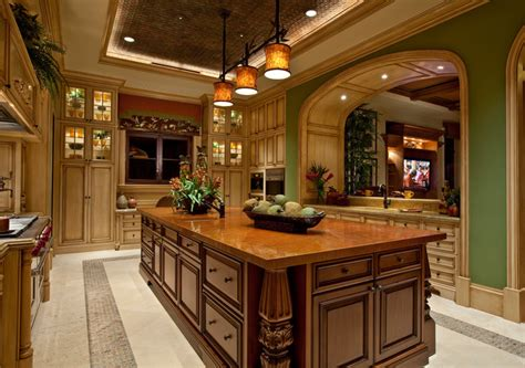bakers custom cabinets naples fl front i mediterranean kitchen by kurtz homes
