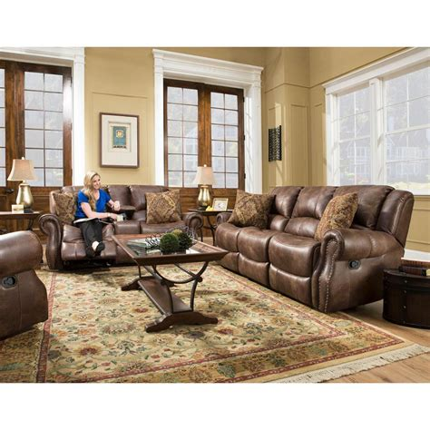 Reclining Living Room Set by Cambridge Stratton 3 Chocolate Sofa Loveseat And