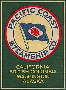 Free Template For Flyer Pacific Coast Steamship Company Wikipedia