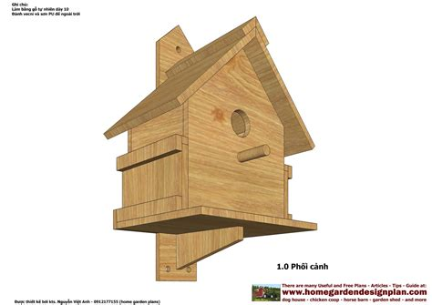 tall birdhouse plans deasining woodworking