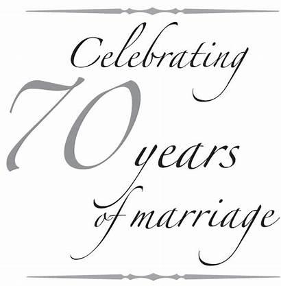Anniversary 70th Text Quotes Lloyd 70 Celebrating
