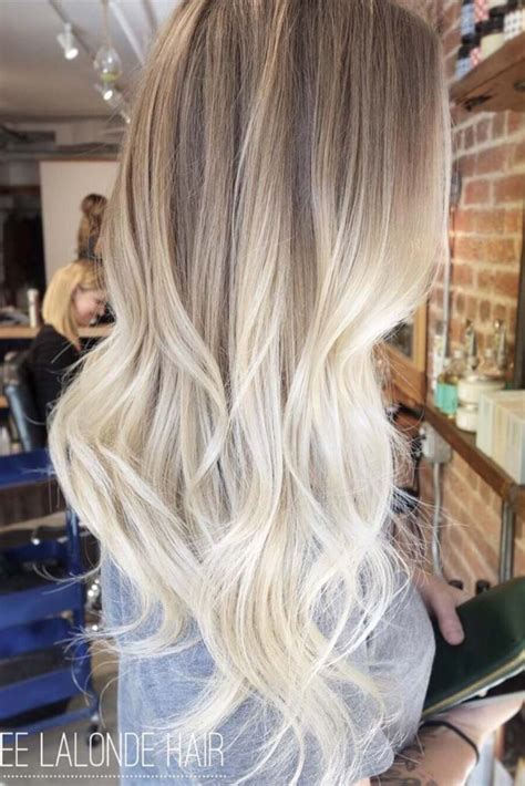 pretty blonde hair color ideas  fashionetter