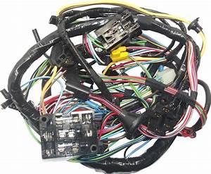 67 Mustang  U0026 Gt Main Underdash Wiring Harness W   Tach