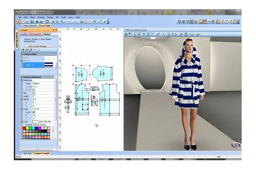 Imágenes de Optitex 9 6 Full Fashion Design Software