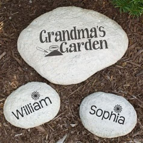 personalized my garden engraved large garden