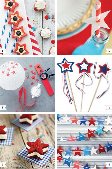 4th of july themed 4th of july party ideas modern magazin