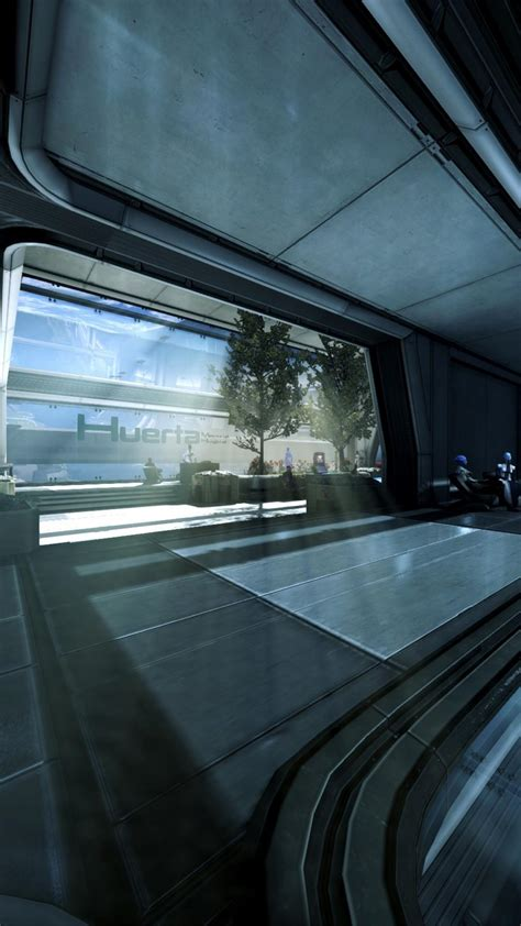 citadel mass effect huerta memorial hospital wallpaper
