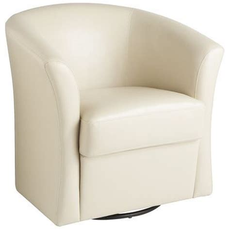 Pier 1 Isaac Swivel Chair Ivory by Leather Isaac Swivel Chair Ivory Home Decor Furniture
