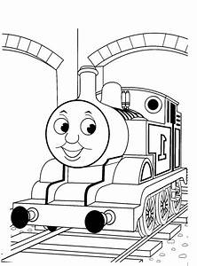 Free Thomas The Train Coloring Pages - AZ Coloring Pages