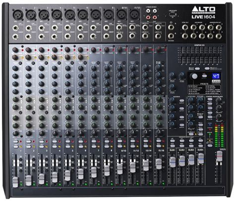 portable kitchen cabinet alto live 1602 16 channel mixer with effects usb astounded 1604