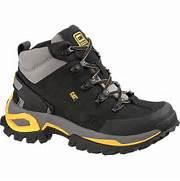Caterpillar Interface Hi Steel Toe Hiker - Men s Work Boot - Black      Caterpillar Shoes