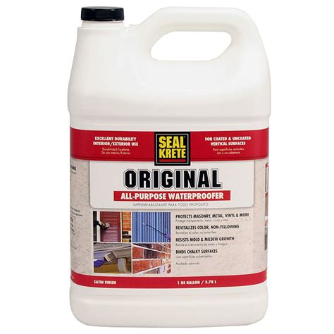 purdy paint brush seal krete 100001 original waterproofing primer sealer gal