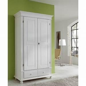 Kleiderschrank Zweitürig Weiß : kleiderschrank schrank arta in massivholz pinie ebay ~ Markanthonyermac.com Haus und Dekorationen