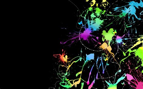 Abstract Colors Artistic Shapes Patterns Shades Texture