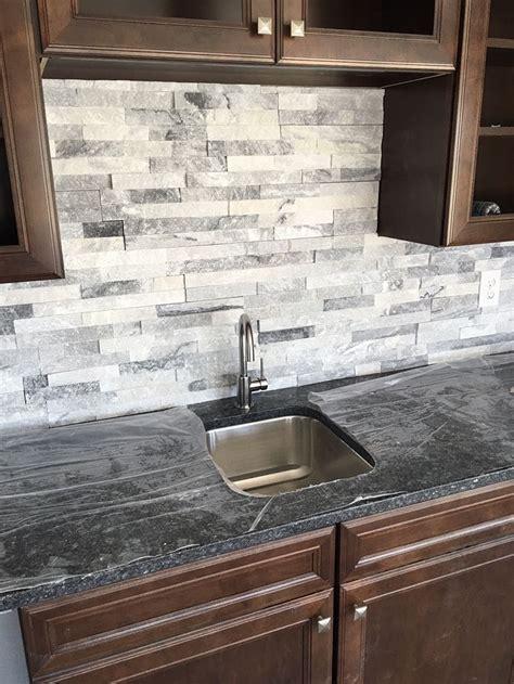Kitchens With Backsplash Tiles by Real Siding Backsplash Fireplace Designs