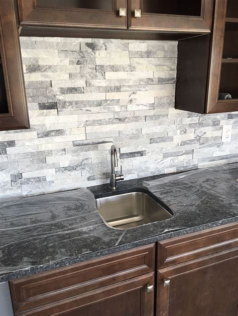Real Stone Siding Stone Backsplash Stone Fireplace Designs