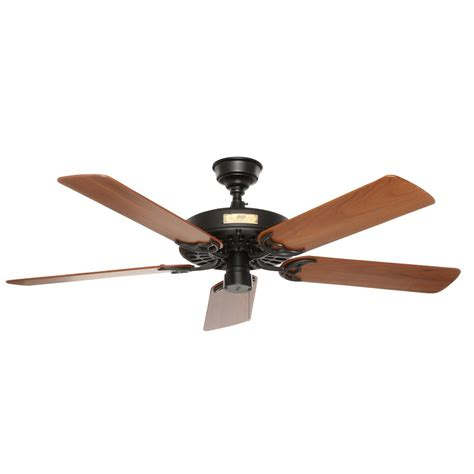 black outdoor ceiling fan hunter original 52 in indoor outdoor black ceiling fan