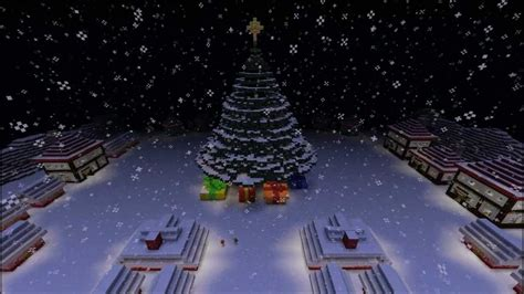 how to make a big christmas tree minecraft town tree snowman