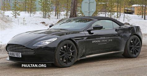 Spied Aston Martin Db11 Volante Spotted Again