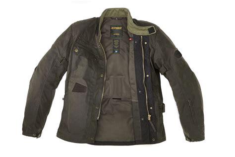 jacket moto spidi worker wax motorcycle jacket