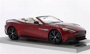 Aston Martin Miniature : aston martin vanquish miniature volante rouge 2014 tecnomodel 1 18 voiture ~ Melissatoandfro.com Idées de Décoration