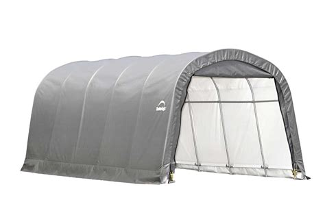 Shelterlogic Shed In A Box Round Top by Shelterlogic 12x20 Garage In A Box Roundtop 8 Tall 62780