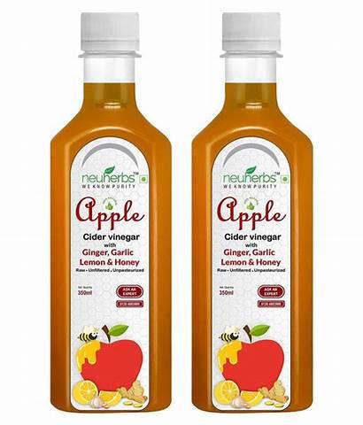 Vinegar Cider Apple Drink Lemon Ginger Honey