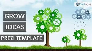 grow ideas prezi template prezibase With good prezi templates