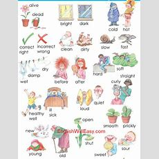Opposites Words By Picture For Kids  Online Dictionary For Kids