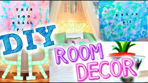 diy room decor popular tumblr inspired decor easy