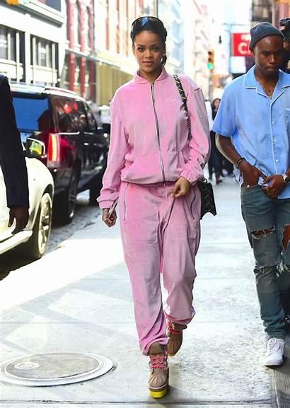 Rihanna 2000s Outfits Tracksuits Velvet Y2k Tracksuit