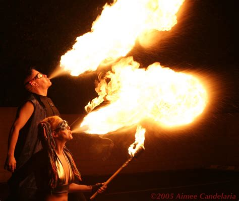 Las Hottest Professional Fire Performance Company To