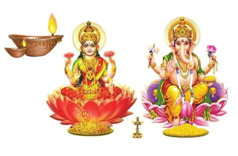 God Laxmi Ganesh Transparent Background Images