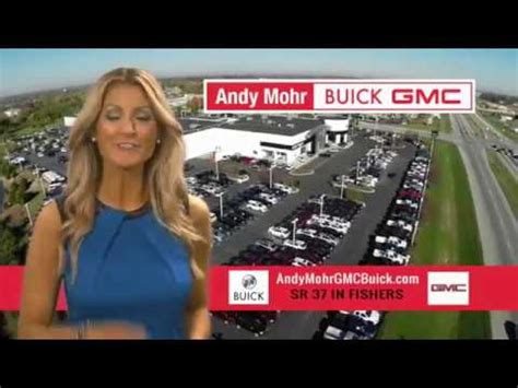 andy mohr buick gmc march  tv commercial youtube