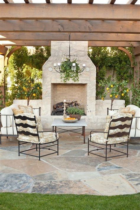 pergola with outdoor fireplace this re create this