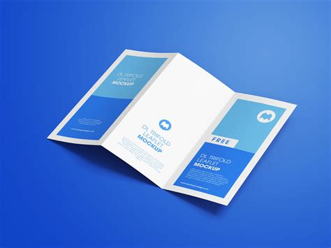 Free 4 Panel Fold Brochure Mockup Psd Mockups Free Premium 3 Fold Tri Fold Brochure Mockup Psd Set 10