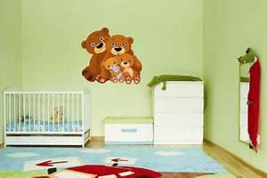 Wandtattoo Auf Rauputz : wandtattoo teddy b r familie kaufen bei ~ Michelbontemps.com Haus und Dekorationen