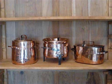 decorative polished set   stock pots  stewing pot  sale  stdibs