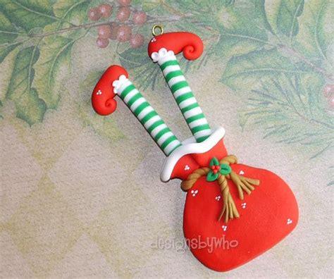 homemade polymer clay christmas ornaments christmas