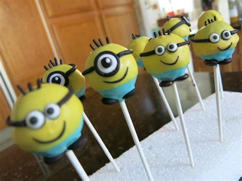 minion cake pops you to see minions cake pops by elaine truong