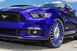 """""""Royal Pony Express"""" Ford Mustang by Forgiato Has Oversized Wheels - autoevolution"""