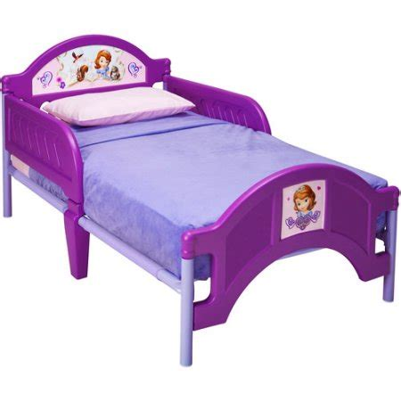 sofia the plastic toddler bed walmart
