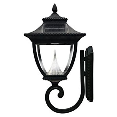gama sonic pagoda solar outdoor led light