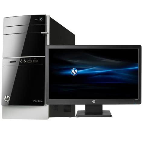 ordinateur de bureau avec ecran ordinateur de bureau hp pavilion 500 530nkm avec écran hp