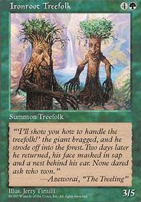 Treefolk Deck Mono Green by Green Magic The Gathering Deck