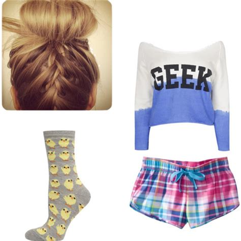Cute Pajama Outfits for Teenagers | ... tags for this image include cute geek outfit pajamas ...