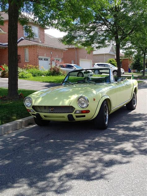 1972 Fiat 124 Spider by 1972 Fiat 124 Spider For Sale 2060174 Hemmings Motor News