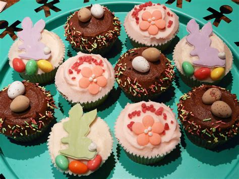 ideas for decorating cupcakes easter cupcake decorating ideas myideasbedroom com