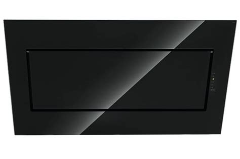hotte de cuisine noir hotte décorative murale falmec quasar 90 noir quasar 90 3475638 darty